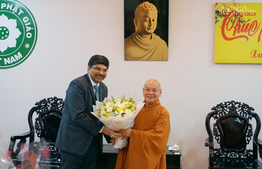 An activity of Indian Consulate in Ho Chi Minh city